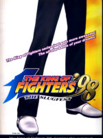 King of Fighters 98: The Slugfest —1998 at Barcade® in Detroit, Michigan | arcade video game flyer graphic