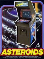 Asteroids — 1979 at Barcade® in Detroit, Michigan | Game flyer graphic