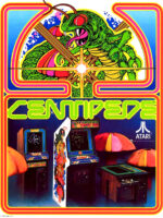 Centipede — 1981 at Barcade® in Detroit, Michigan | Game flyer graphic