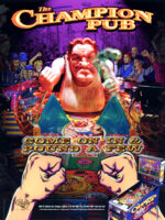 The Champion Pub — 1998 at Barcade® in Detroit, Mchigan | arcade video game flyer graphic
