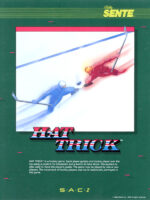 Hat Trick —1984 at Barcade® in Detroit, Michigan | arcade video game flyer graphic