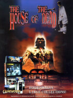 House of the Dead — 1997 at Barcade® in Detroit, Michigan | arcade video game flyer graphic
