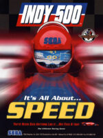 Indy 500 — 1995 at Barcade® in Detroit, Michigan | arcade video game flyer graphic