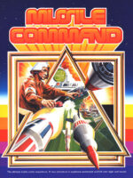 MIssile Command — 1980 at Barcade® in Detroit, Michigan | arcade video game flyer graphic