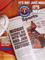 NBA Jam Tournament Edition — 1994 at Barcade® in Detroit, Michigan | arcade video game flyer graphic