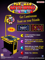 Pac-Man Battle Royale — 2010 at Barcade® in Detroit, Michigan | arcade video game flyer graphic