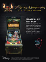 Pirates of the Carribbean (pinball) — 2018 at Barcade® in Detroit, Michigan | arcade video game flyer graphic