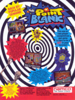 Point Blank — 1994 at Barcade® in Detroit, Michigan | arcade video game flyer graphic