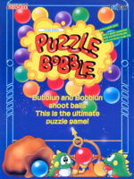 Puzzle Bobble — 1994 at Barcade® in Detroit, Michigan | arcade video game flyer graphic