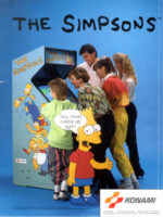 Simpsons — 1991 at Barcade® in Detroit, Michigan | arcade video game flyer graphic