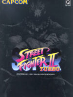 Super Street Fighter II Turbo — 1994 at Barcade® in Detroit, Michigan | arcade video game flyer graphic