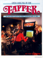 Tapper — 1984 at Barcade® in Detroit, Michigan | arcade video game flyer graphic