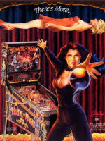 Theatre of Magic (pinball) — 1995 at Barcade® in Detroit, Michigan | arcade video game flyer graphic